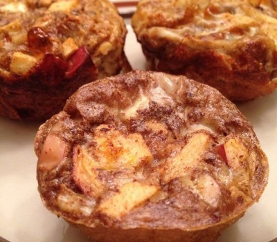 Apple French Toast Egg Muffins