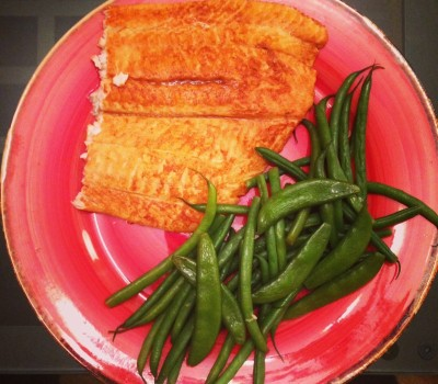Spicy Flounder & Green Beans!