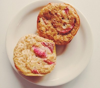 Strawberry Egg Muffins