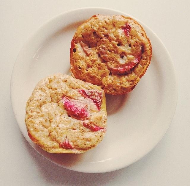 Strawberry Egg Muffins