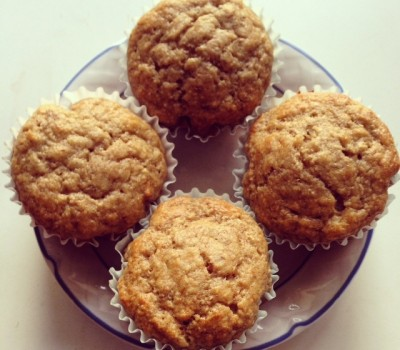 Protein Banana Nut Muffins