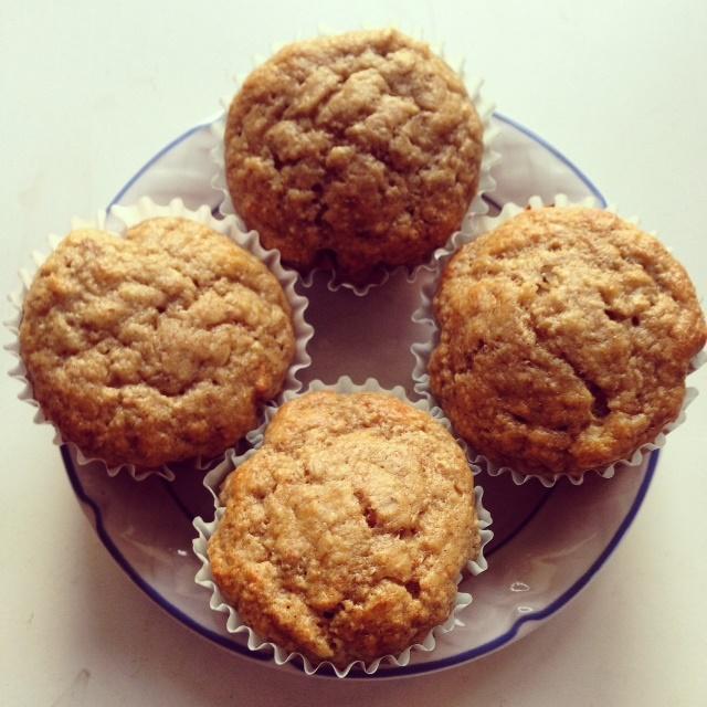 Protein Banana Nut Muffins