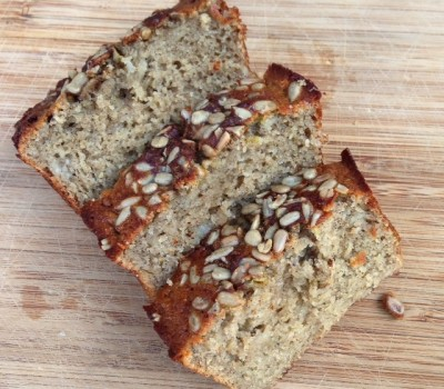 Sunflower Banana Loaf