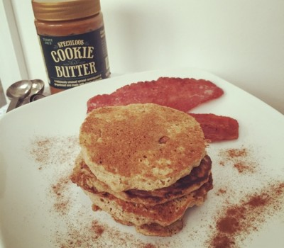 Cookie Butter Pancakes