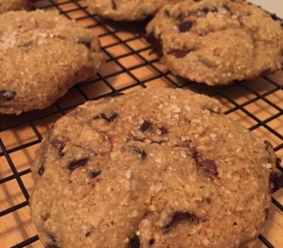Protein Nutella Stuffed Cookies