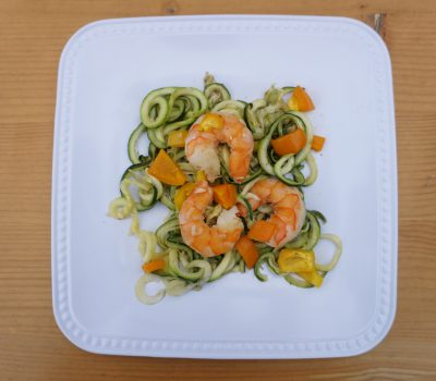 Shrimp Zucchini Bake