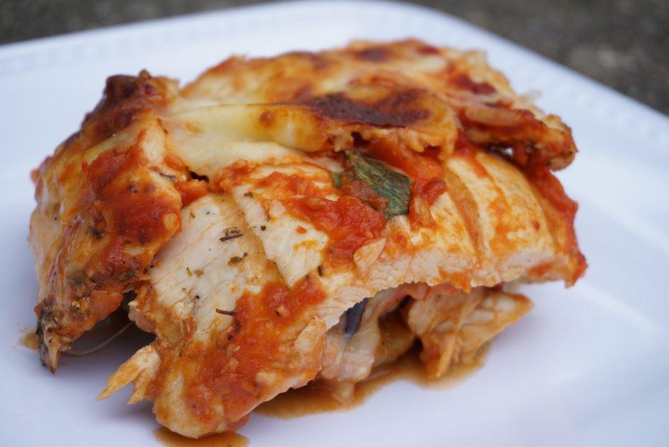 Eggplant Chicken Lasagna
