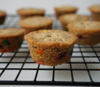 Funfetti mini cupcakes